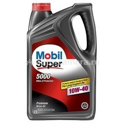 Масло Mobil 10W-40 SUPER 5000, 4.83л