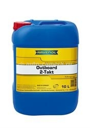 Масло Ravenol Outboard 2T Mineral 4014835728943, 10л